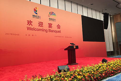 BRICS Gipfel 2017 Xiamen – China